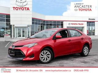 Used 2017 Toyota Corolla LE for sale in Ancaster, ON