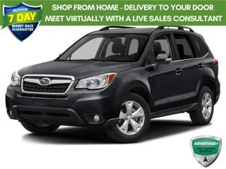 Used 2014 Subaru Forester 2.5i Limited Package | NO ACCIDENTS | CAMERA | ROOF for sale in Barrie, ON