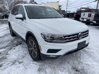 Used 2018 Volkswagen Tiguan Highline for sale in Cornwall, ON