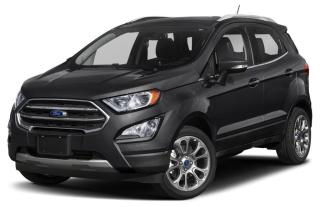 New 2018 Ford EcoSport SE for sale in Tilbury, ON