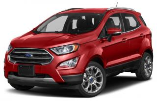 New 2019 Ford EcoSport SE for sale in Tilbury, ON