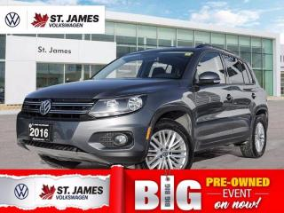 Used 2016 Volkswagen Tiguan Special Edition, Local One Owner, WINTER / SUMMER SET!!! With Navigation for sale in Winnipeg, MB