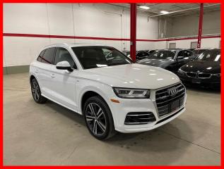 Used 2018 Audi Q5 TECHNIK S-LINE SPORT HEAD-UP DISPLAY ADVANCED DRIVER ASSIST for sale in Vaughan, ON
