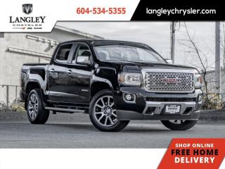 Used 2019 GMC Canyon Denali 4x4  Forward Collision/ One Owner/ Tonneau/ Local for sale in Surrey, BC