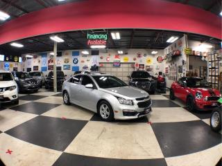 Used 2015 Chevrolet Cruze 1LT AUT0 A/C SUNROOF H/SEATS REAR CAMER for sale in North York, ON