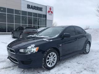 Used 2014 Mitsubishi Lancer SE AUTOMATIC for sale in Barrie, ON