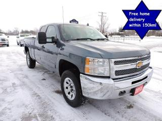 Used 2013 Chevrolet Silverado 1500 LS Cheyenne Edition 4X4 New tires Only 92000 km for sale in Gorrie, ON