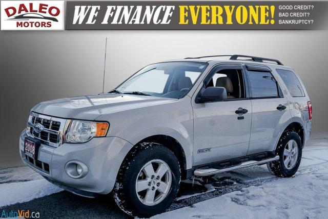 2008 Ford Escape XLT / BUCKET SEATS / LUGGAGE RACK / POWER SEAT Photo4