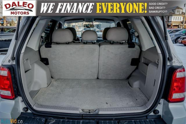2008 Ford Escape XLT / BUCKET SEATS / LUGGAGE RACK / POWER SEAT Photo23