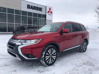 Used 2020 Mitsubishi Outlander EX |Blind Spot | Suede leather | 7 Passenger for sale in Barrie, ON