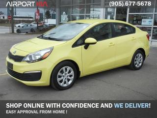 Used 2016 Kia Rio LX+ / No Accident/Bluetooth/Power Package/ One Owner for sale in Mississauga, ON