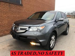 Used 2008 Acura MDX Tech/Pwr Tail Gate/7 PASSENGERS/NAVI/CAMERA for sale in Oakville, ON