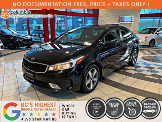 Used 2018 Kia Forte LX - Accident Free / Local / Heated Seats / No Dealer Fees for sale in Richmond, BC