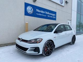 New 2021 Volkswagen Golf GTI Autobahn for sale in Edmonton, AB