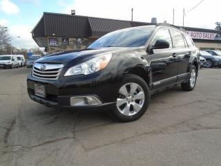 Used 2010 Subaru Outback AWD AUTO 2.5i Sport w/Limited Pkg/Multimedia SU for sale in Oakville, ON