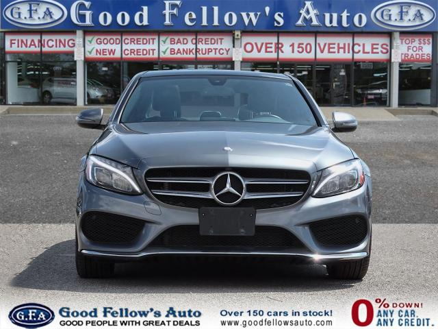 2017 Mercedes-Benz C300 4MATIC, PAN ROOF, BLIND SPOT, MEMORY Pkg, NAVI