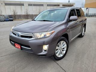 Used 2012 Toyota Highlander Hybrid Limited, 4WD, 7 pass, Warranty Available for sale in Toronto, ON