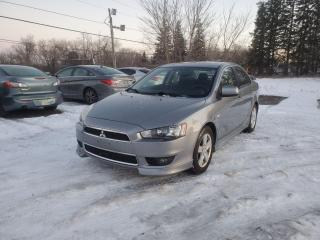 Used 2013 Mitsubishi Lancer ES 10th ANNIVERSARY EDITION SUNROOF CERTIFIED for sale in Stouffville, ON