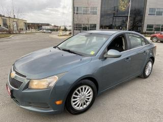 Used 2012 Chevrolet Cruze Auto, 4 Door, Low km, 3/Y Warranty Available for sale in Toronto, ON
