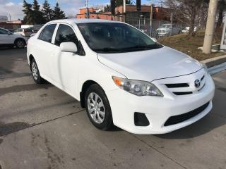 Used 2011 Toyota Corolla auto,p/windows,safety+3years warranty included for sale in Toronto, ON