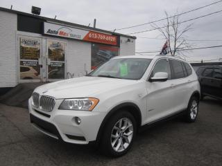 Used 2013 BMW X3 28i for sale in Gloucester, ON