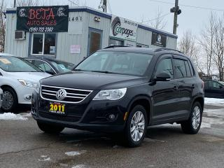 Used 2011 Volkswagen Tiguan COMFORTLINE for sale in Kitchener, ON