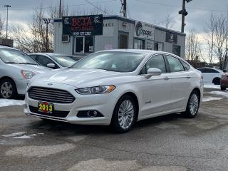 Used 2013 Ford Fusion Hybrid Se for sale in Kitchener, ON