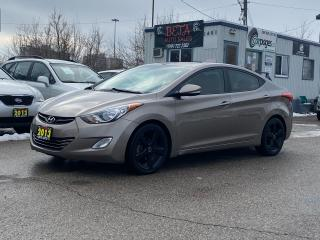 Used 2013 Hyundai Elantra Limited for sale in Kitchener, ON