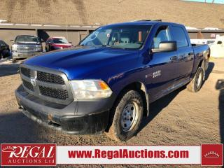 Used 2015 Dodge Ram 1500 ST CREW CAB SWB 4WD 3.0L for sale in Calgary, AB
