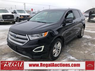 Used 2016 Ford Edge SEL 4D Utility AWD 2.0L for sale in Calgary, AB