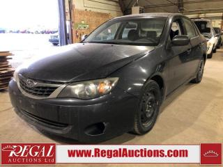 Used 2008 Subaru Impreza 4D Sedan AWD for sale in Calgary, AB