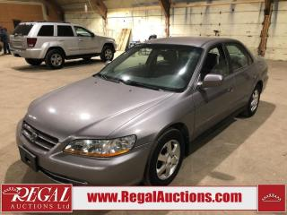Used 2001 Honda Accord LX 4D Sedan for sale in Calgary, AB