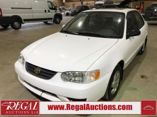 Used 2002 Toyota Corolla 4D Sedan for sale in Calgary, AB