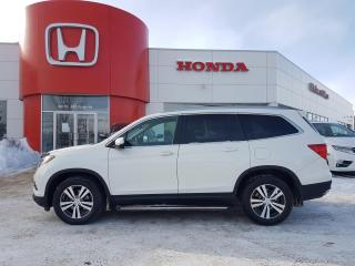 Used 2017 Honda Pilot EX-L Leather - Apple CarPlay - Android Auto for sale in Winnipeg, MB