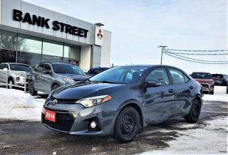 Used 2016 Toyota Corolla S for sale in Gloucester, ON