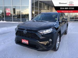 Used 2020 Toyota RAV4 XLE Premium Package for sale in Winnipeg, MB