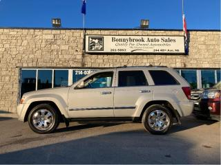 Used 2010 Jeep Grand Cherokee Limited/sunroof /leather/ backup camera /starter/ for sale in Calgary, AB