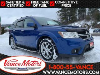 Used 2015 Dodge Journey R/T AWD...BLUETOOTH*LEATHER*7 SEATS! for sale in Bancroft, ON