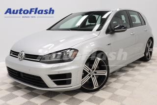Used 2016 Volkswagen Golf R 292HP!* DSG* AWD* CAMERA* GPS* SYSTEME-FENDER* for sale in Saint-Hubert, QC