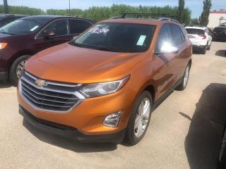 Used 2018 Chevrolet Equinox PREMIER 2LZ,LEATHER,NAVIGATION,SUNROOF for sale in Slave Lake, AB