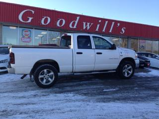 Used 2007 Dodge Ram 1500 SLT! QUAD! CLEAN CARFAX! LOCAL TRADE! for sale in Aylmer, ON