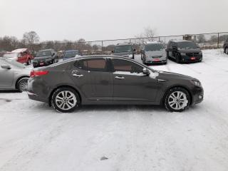 Used 2011 Kia Optima EX! CLEAN CARFAX! HEATED LEATHER! REMOTE START! for sale in Aylmer, ON