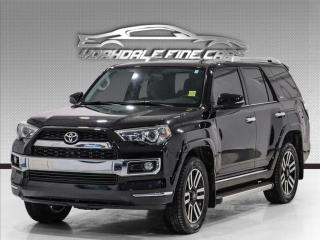 Used 2018 Toyota 4Runner 4WD Limited, Navigation, Camera, Loaded for sale in Concord, ON