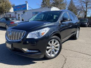 Used 2015 Buick Enclave AWD 4dr Premium *ACCIDENT FREE*ONE OWNER* NAVI for sale in Brampton, ON