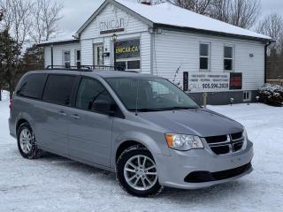 Used 2013 Dodge Grand Caravan No Accidents SXT Stow N Go Backup-cam DVD Power Group for sale in Sutton, ON