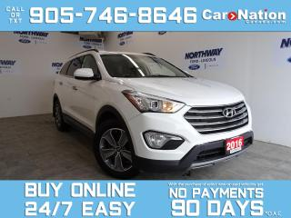 Used 2016 Hyundai Santa Fe XL XL 3.3L V6 | HEATED SEATS | 7 PASS | ONLY 41 KM! for sale in Brantford, ON