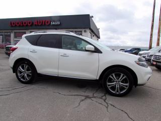 Used 2011 Nissan Murano LE AWD Navigation Camera Panoramic Sunroof Certified for sale in Milton, ON