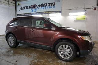 Used 2009 Ford Edge LIMITED AWD CERTIFIED 2YR WARRANTY BLUETOOTH SUNROOF LEATHER for sale in Milton, ON