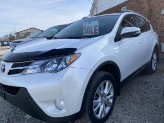 Used 2013 Toyota RAV4 Limited navigation,panoramic sunroof, low kilometers. for sale in Brantford, ON