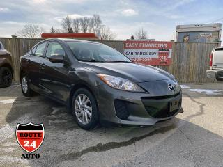 Used 2013 Mazda MAZDA3 GX very clean and inexpensive transportation. for sale in Brantford, ON